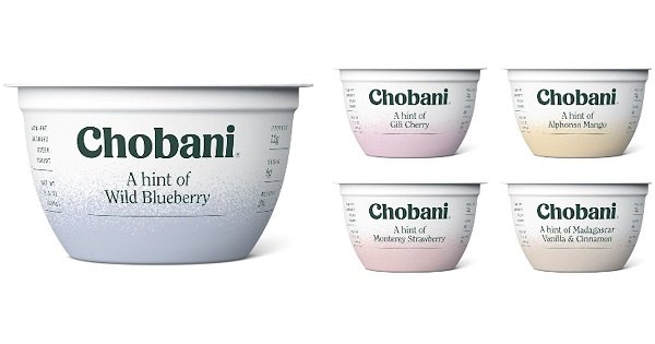 Free Chobani A Hint of Flavor or Flip Yogurt