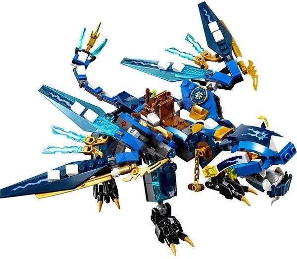Free Lego Blue Dragon