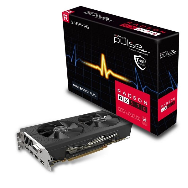 Sapphire Pulse RX 570 4GB Graphics Card Giveaway