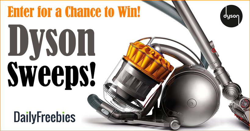 Daily Freebies: Dyson Vacuum Sweeps