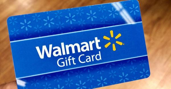 $10,000 Walmart Gift Card Giveaway