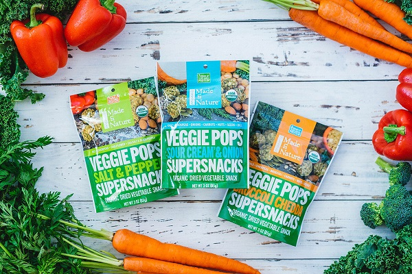 Free Sample of Made in Nature Veggie Pops