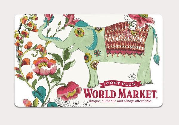 $3,000 World Market Sweepstakes
