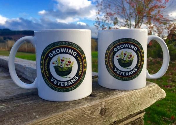 Free Growing Veterans Mug & Tea Canister