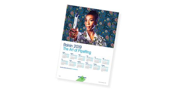 Free 2019 Art Pipetting Calendar