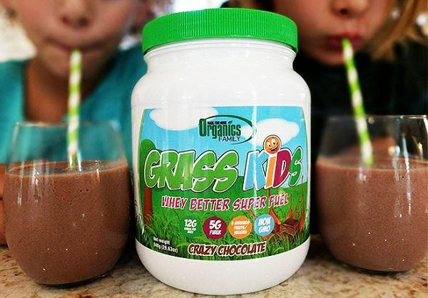 Free Organics Family Grass Kids Whey Powder