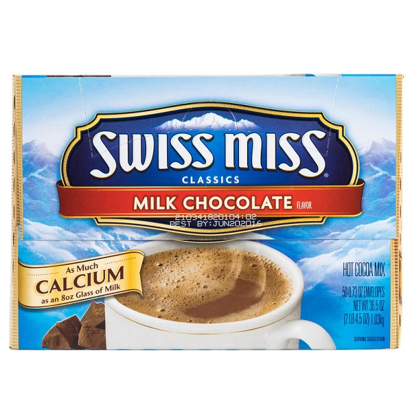 Free Sample of Swiss Miss Hot Cocoa Mix at Walmart