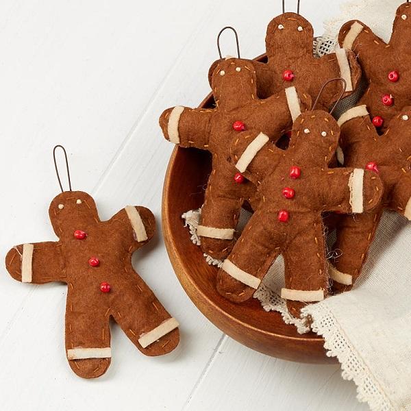 Free Gingerbread Man Ornament