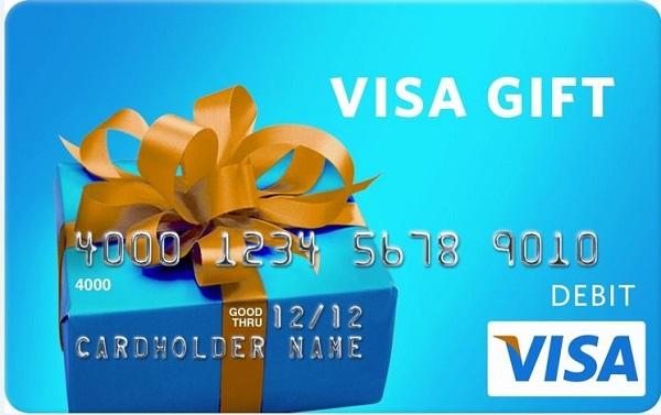 $5,000 Visa Gift Card Giveaway