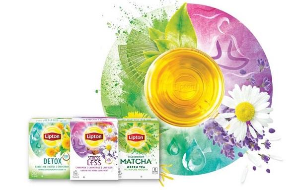 3 Free Samples of Lipton Wellbeing Teas