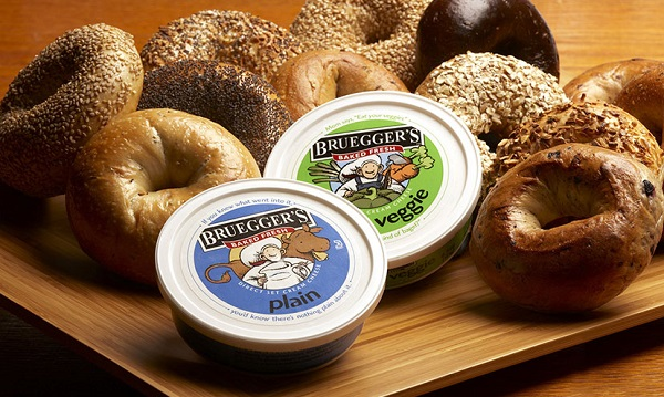 Free Bagel with Cream Cheese from  Bruegger's