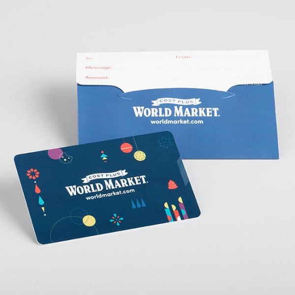 $1000 World Market.com Gift Cards Giveaway