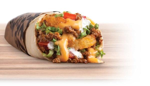 Free Meat & Potato Burrito