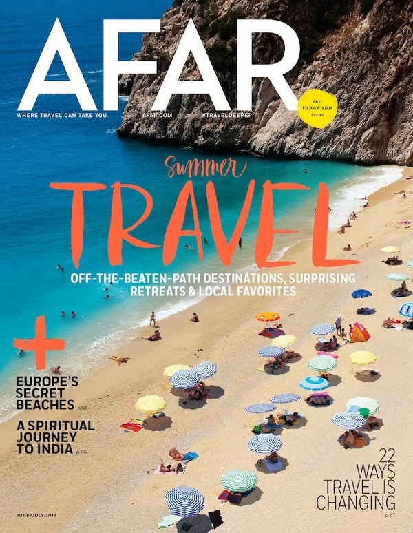 Complimentary Subscription to Afar Magazine