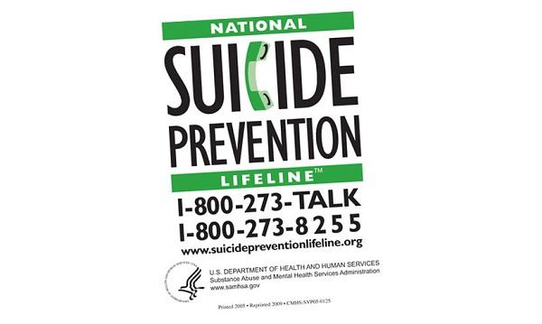 Free National Suicide Prevention Lifeline Magnet