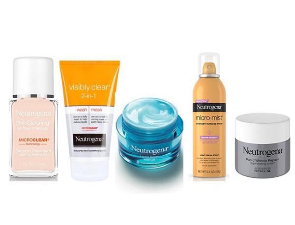 Free Neutrogena Skincare Products