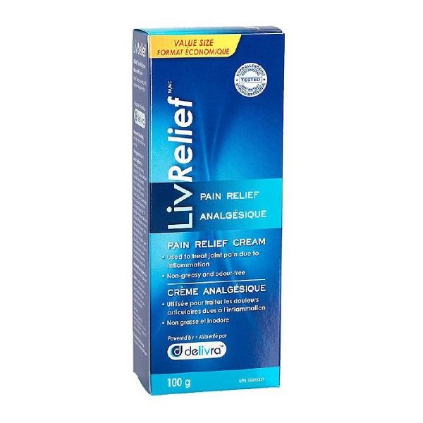 Free LivRelief Pain Relief Cream