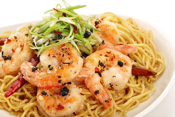 Free Long Life Noodles & Prawns at P.F Chang's