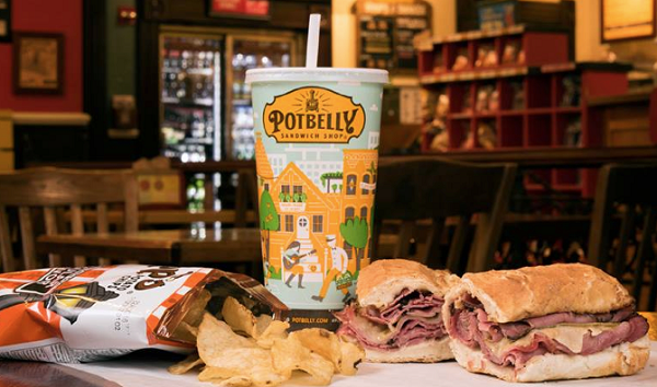 Free Sandwich with the Potbelly App