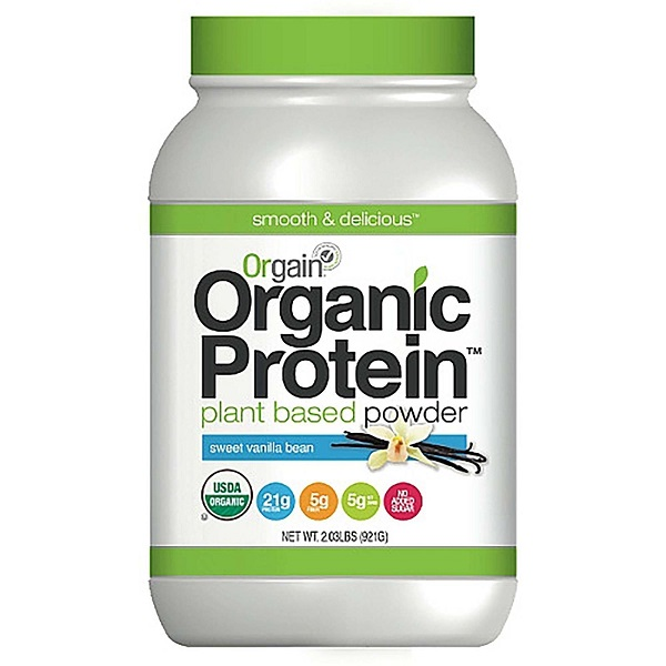 Free Sample of Orgain Organic Protein Powder