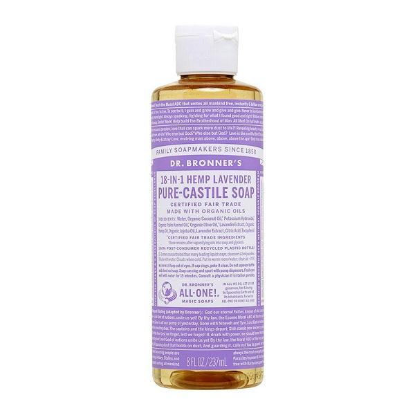 Free Dr. Bronner's Lavender Pure Castile Liquid Soap