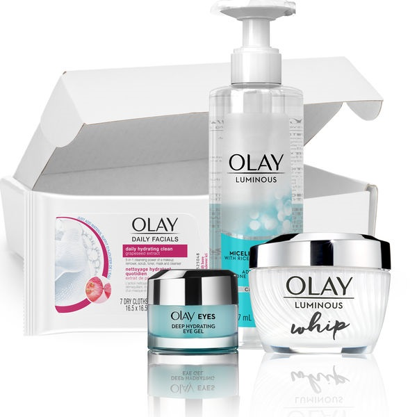 Free Sample of Olay Whips Eye Gel  & Cleansing Cloths