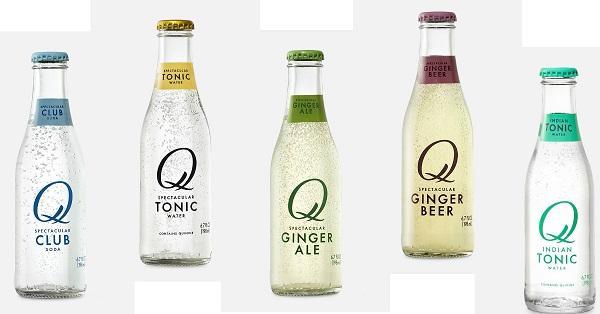 Free Q Drinks Carbonated Mixer Beverage
