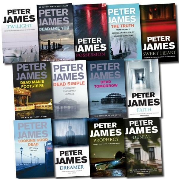 Peter James Novel Sweepstakes