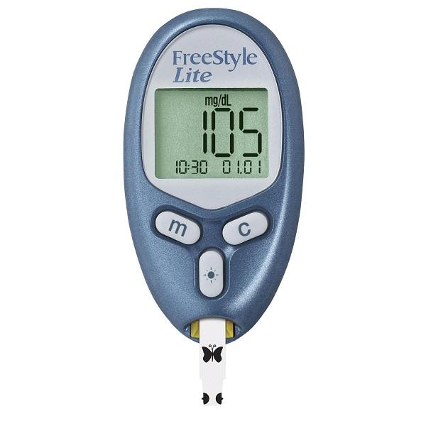 Free Freestyle Lite Glucose Meter