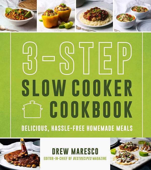3-Step Slow Cooker Cookbook Sweepstakes