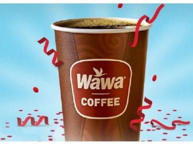 Free Coffee at Wawa on April 11th