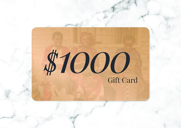 $1,000 Gift Card Giveaway