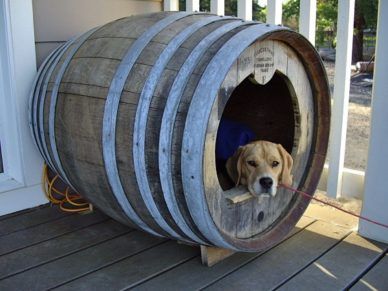 Early Times Whisky Barrel Doghouse Giveaway