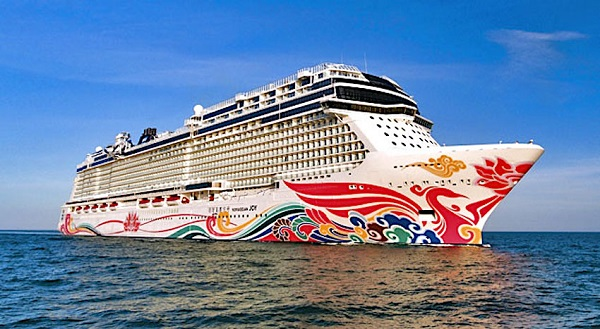 Cruise for Two on Norwegian Joy Sweepstakes