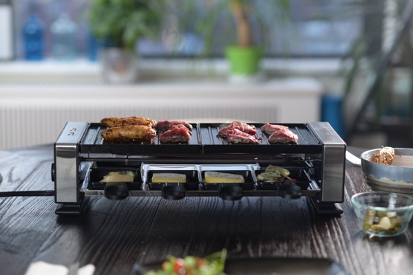 PARTYGRILL Indoor Tabletop Raclette Grill Giveaway