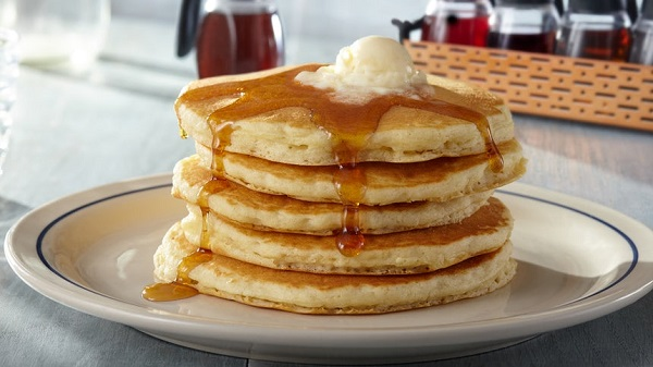 Free Short Stack of Pancakes at Ihop on March 12th