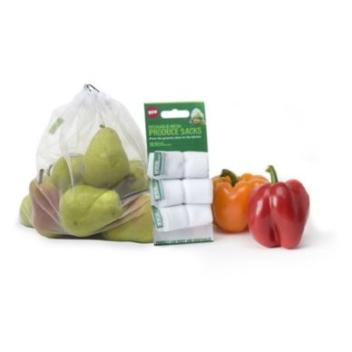 Free`3-Pack of Sprouts Reusable Mesh Produce Bags
