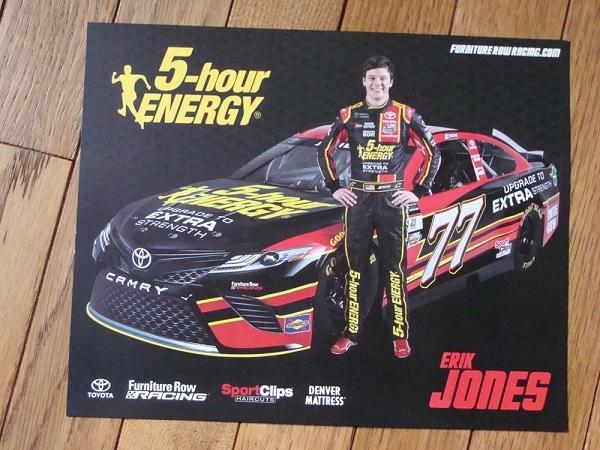 Free Erik Jones Hero Card