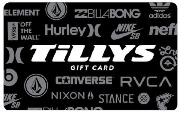 $500 Tilly's Gift Card Giveaway