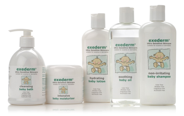Free Sample Pack of Exederm Ultra Sensitive Skin Care
