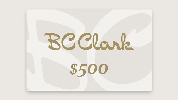 BC Clark Gift Card Sweepstakes