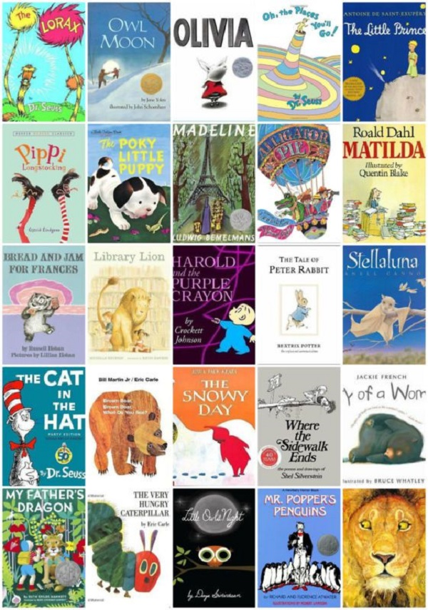 50 Best Books for Kids Giveaway