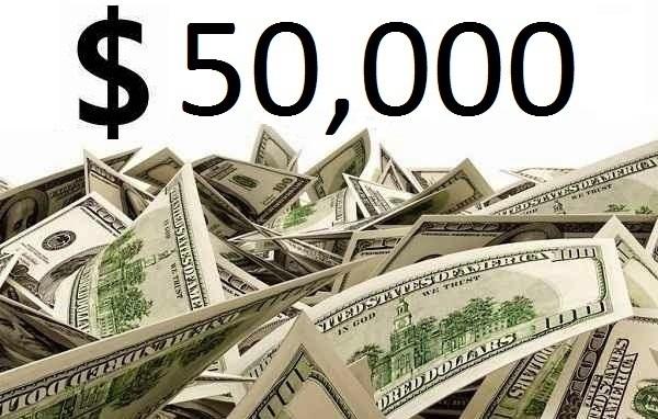 $50,000 Check Sweepstakes