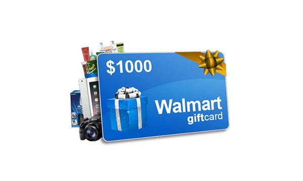 $1,000 Walmart Gift Card Sweepstakes