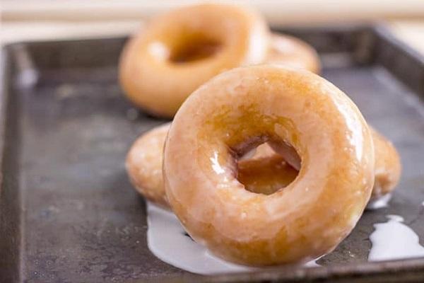 Free Krispy Kreme Glazed Doughnut
