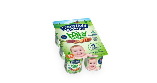 Free Stonyfield Organic Veggie Whole Milk Yogurt
