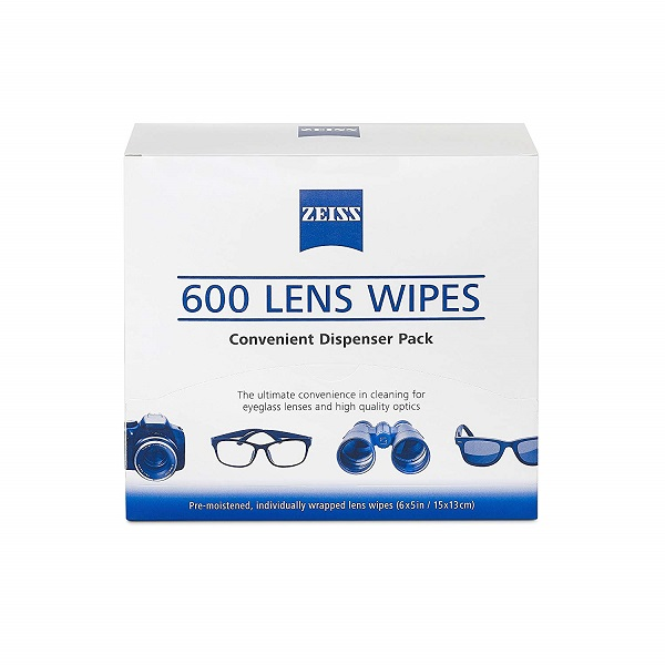 Free Zeiss Lens Cleaning Wipes
