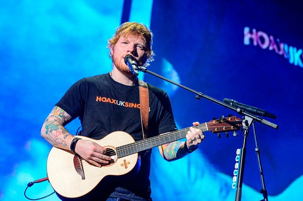 Ed Sheeran's Hometown Collaboration Concert Trip Swepstakes