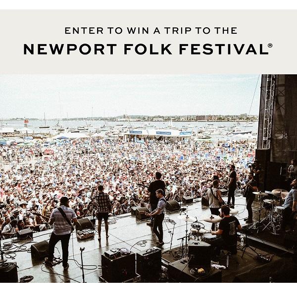 Frye x Newport Folk Festival Sweepstakes