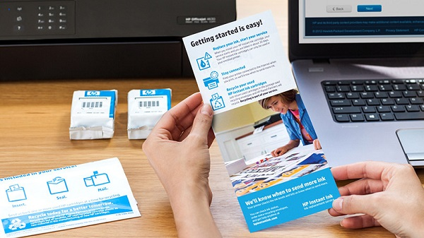 Free HP Printer & Instant Ink Service